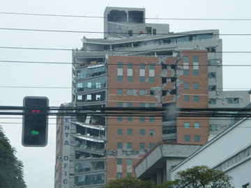 Building Damage – Concepcion, Chile 2010