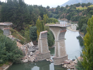 Collapsed Bridge – Route 5 – Chile 2010