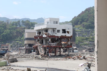 Tsunami Building Damage – Japan 2011