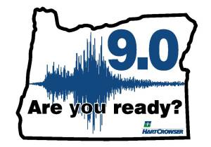 Oregon 9.0 Earthquake--Are you ready?